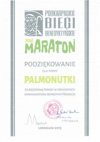podziękowania Maraton Biegów
