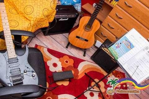 Sala do nauki gry na gitarze
