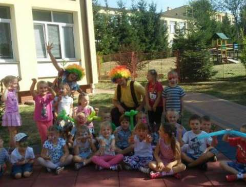 animator klaun na balu karnawałowym dla dzieci przeworsk