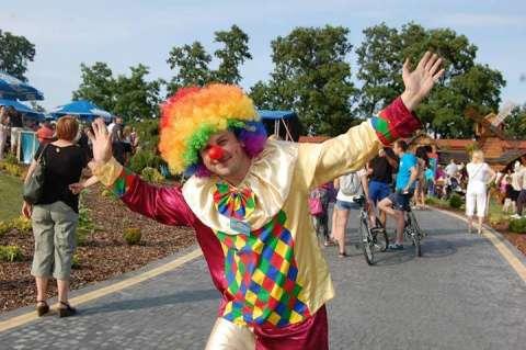 animator klaun dla dzieci na festyn urodziny wesele