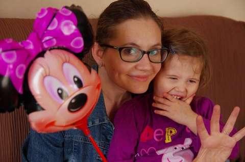 Balon Myszka Mini dla dzieci jarosław