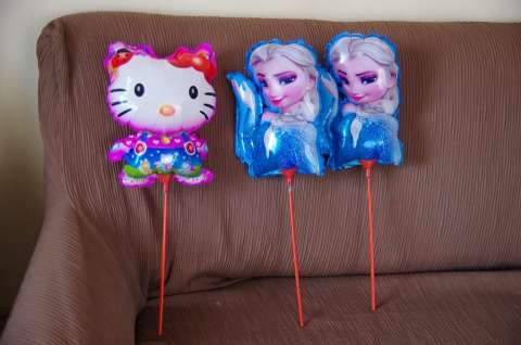 balony dla dzieci hello kitty ora elza jarosław