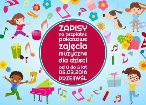 zajęcia muzyczne dla dzieci w Przemyślu