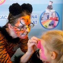 animator dla dzieci malowanie twarzy