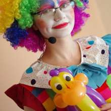 klaun animator na urodzinach w sieniawie