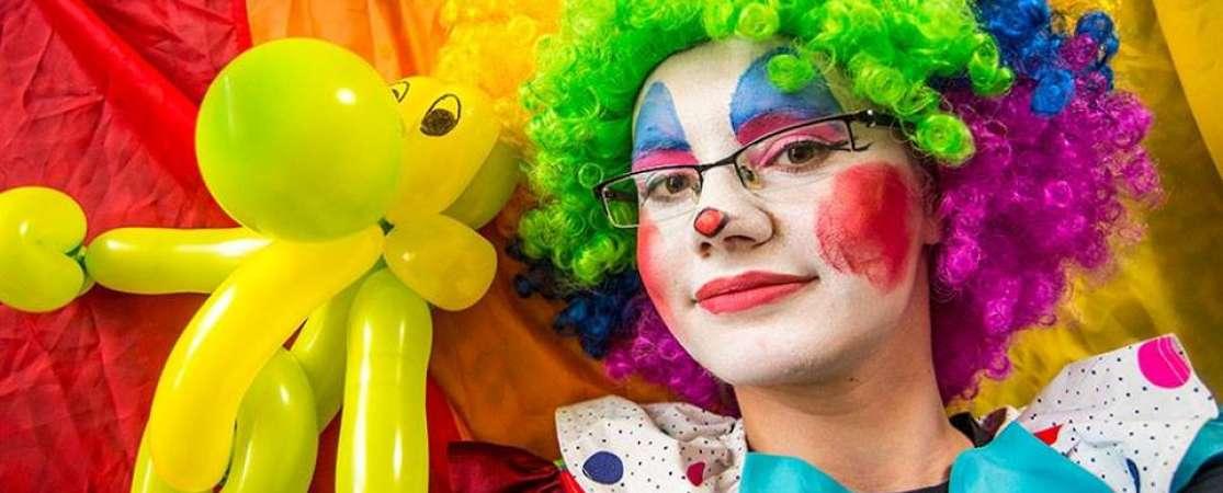 klaun na urodziny wesela imprezy